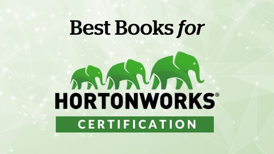HortonWorks certification books