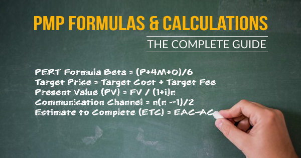 25 PMP Formulas to Pass the PMP Certification Exam - Whizlabs Blog