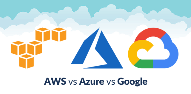 AWS Vs Azure Vs Google: Cloud Services Comparison [Latest