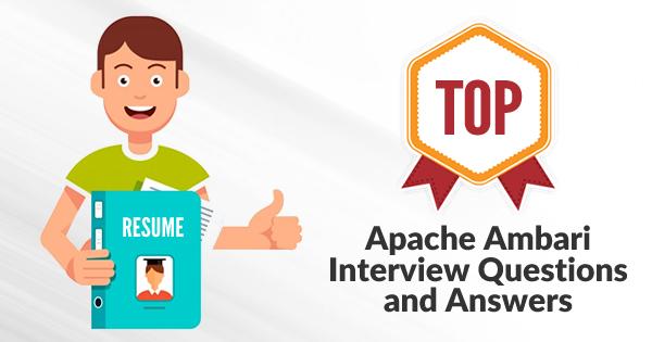 Apache Ambari Interview Questions