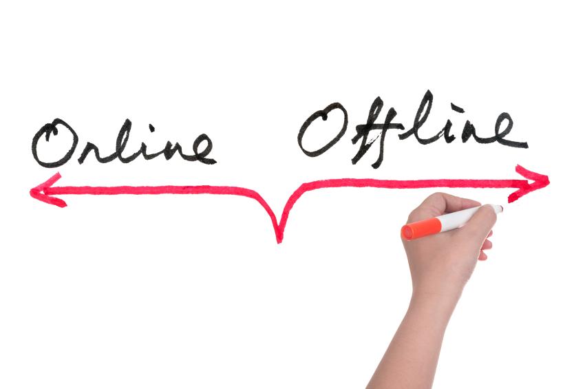 Online or Offline courses