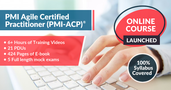 PMI-ACP Online Course Launched