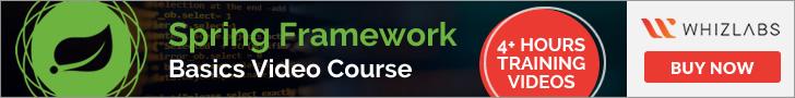 Spring Framework Basics