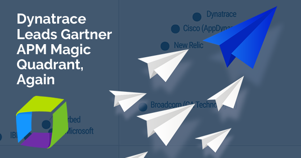 Dynatrace leads Gartner APM Magic Quadrant 2019