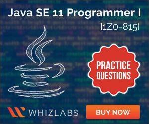 Java SE 11 Programmer I [1Z0-815]
