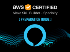 AWS Certified Alexa Skill Builder Specialty exam preparation