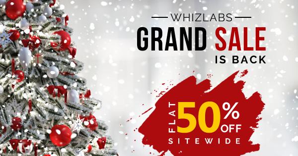 Whizlabs Grand Sale 2019