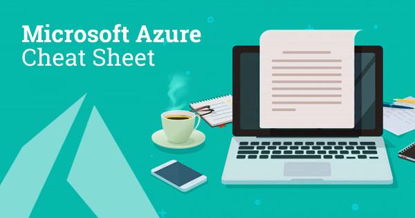 Microsoft Azure Cheat Sheet