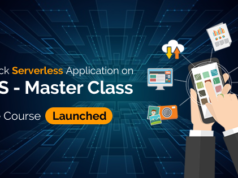 fullstack serverless application on aws master class
