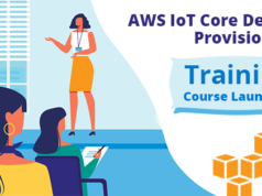 AWS IoT Core Device provisioning training course