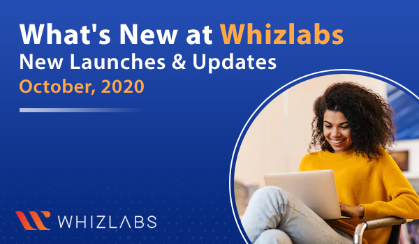Whizlabs New Launches Oct 2020