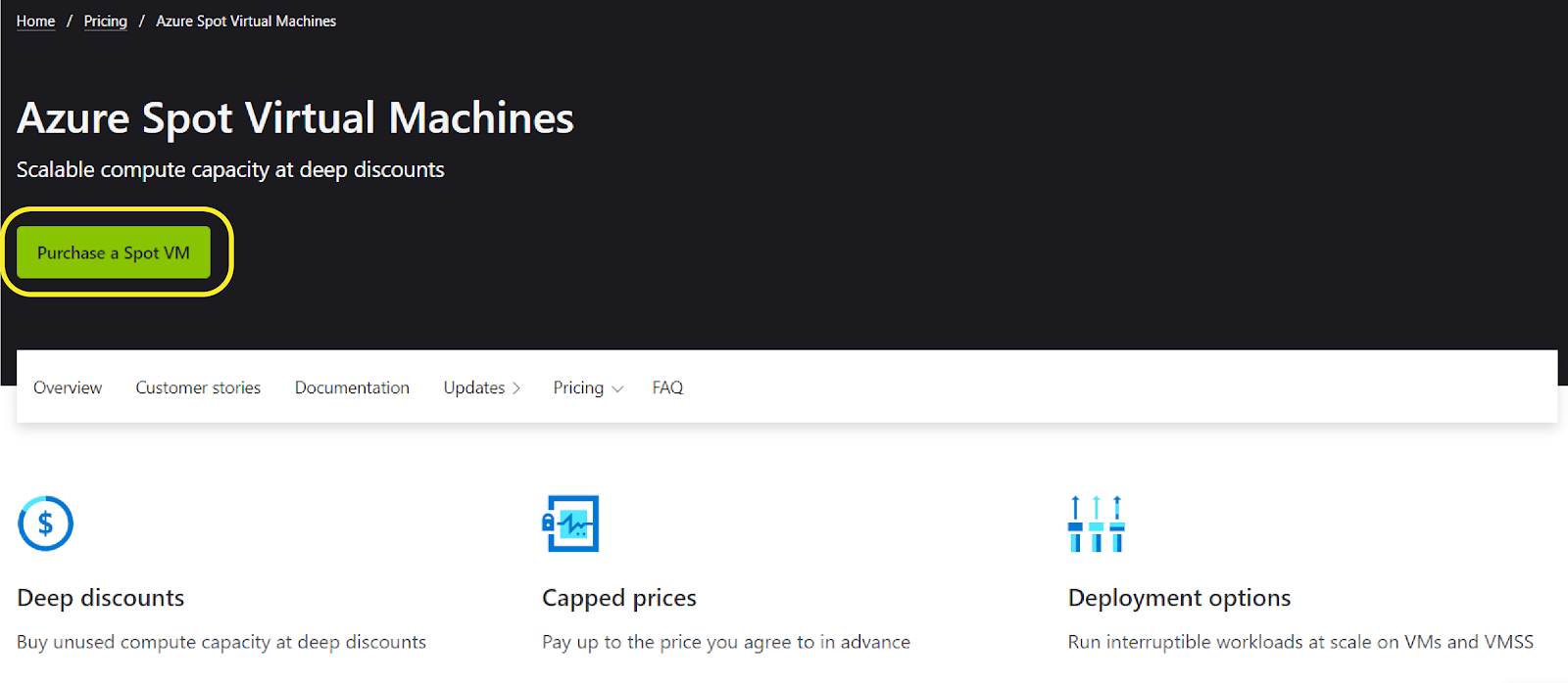 Azure Spot Virtual Machines