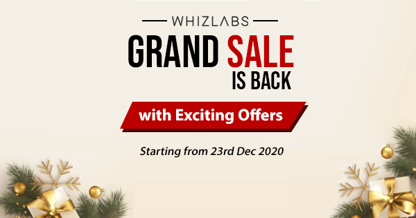 Whizlabs Grand Sale 2020