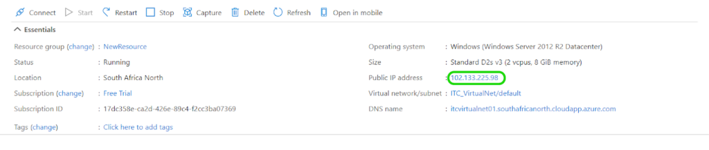 Migrating the Web Application to the Azure App Service - configure the endpoints