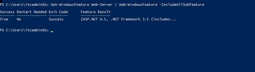 Administrator - Windows PowerShell 2