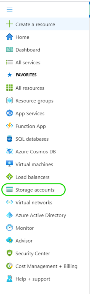Creating a Storage Account- Storage Accounts