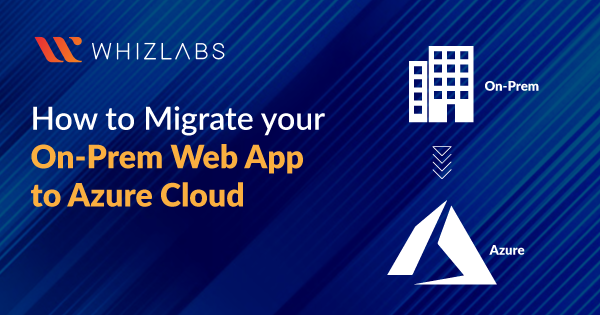 Migrate your on-prem Web App to Azure Cloud
