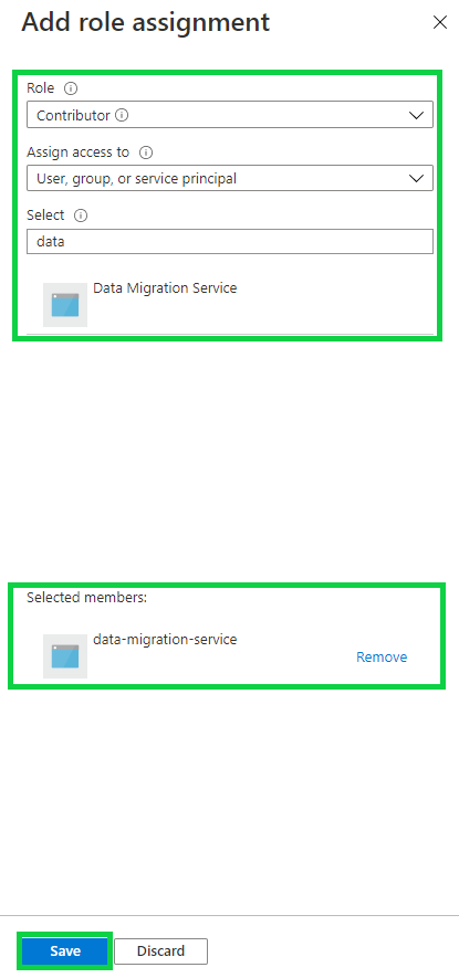 Azure Active Directory - contributor role