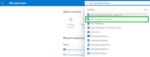 Azure SQL Managed Instance - SQL managed instances