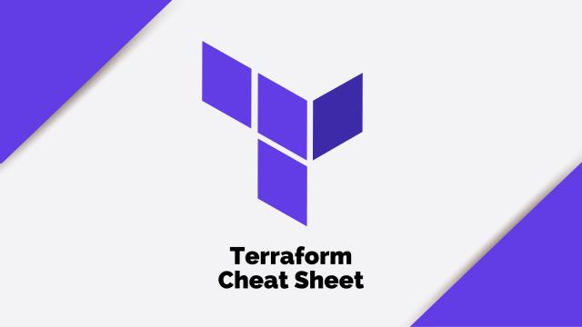 Terraform Cheat Sheet