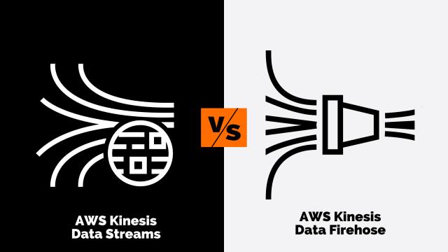 AWS kinesis data streams vs AWS kinesis data firehose