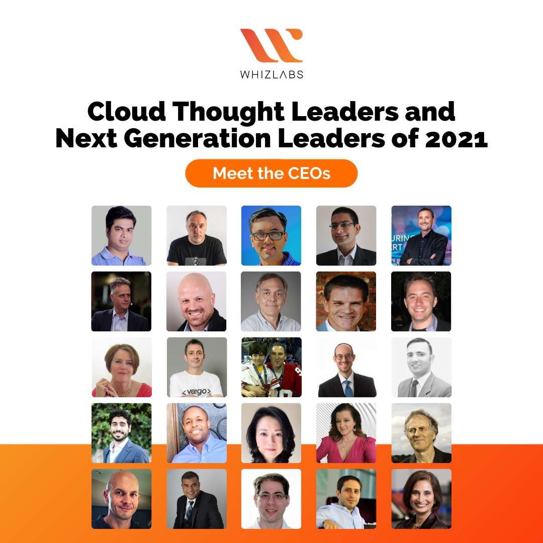 Meet the CEOs - Cloud Thought Leaders 2021