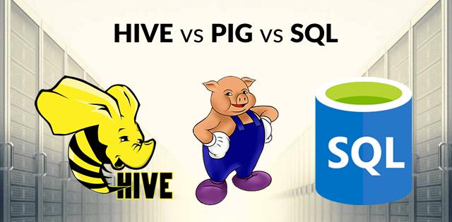 Hive vs Pig vs SQL