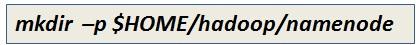 Create Namenode Directory