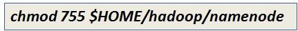 Modify Namenode Directory