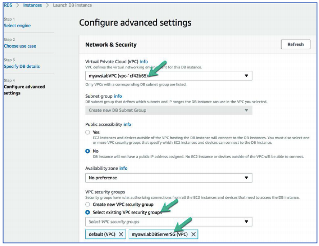 Configure advanced settings