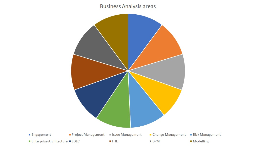 Business analysis areas