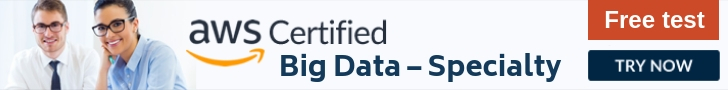 AWS Big Data Specilty Free Test