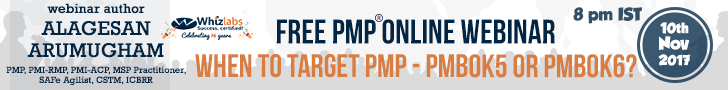 When to target PMP - PMBOK5 or PMBOK6?