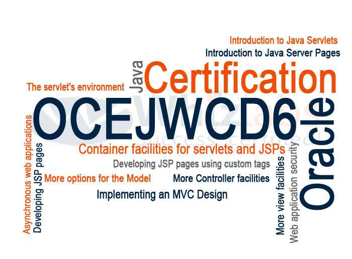 Oracle Certified Expert, Java EE 6 Web Component Developer