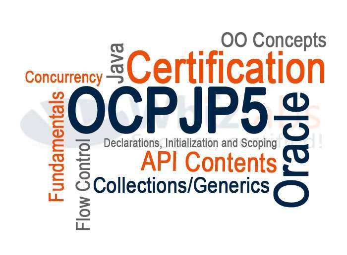OCPJP/SCJP 5 (Sun Certified Java Programmer) Certification Preparation