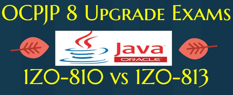 1z0-810 vs 1z0-813