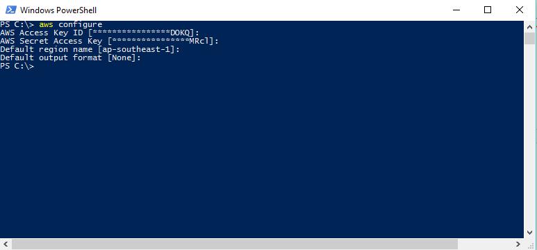 AWS SQS - Windows Powershell