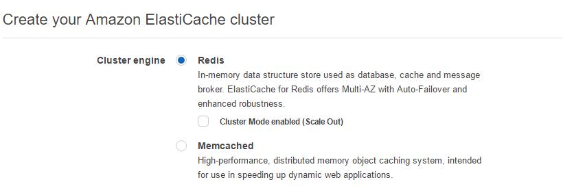 Create Redis Cluster