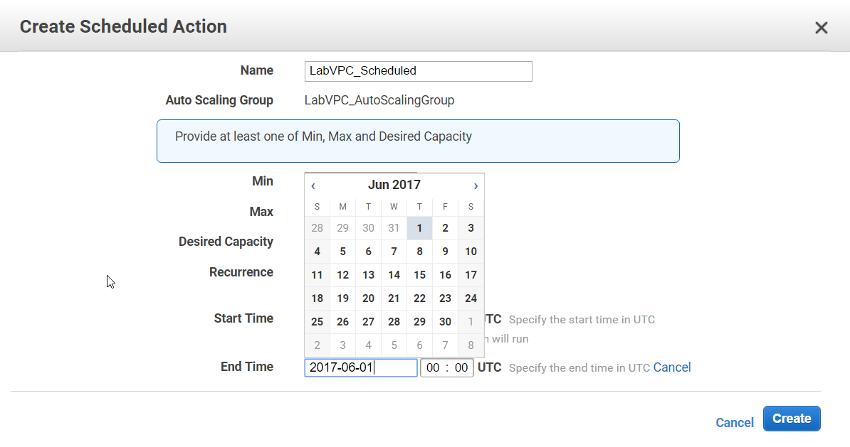AWS Certification : High availability of EC2 instances using