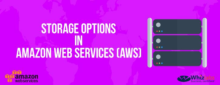 Storage option in AWS