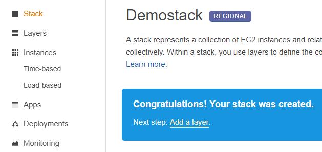 Opswork demostack