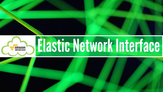 Elastic Network Interface