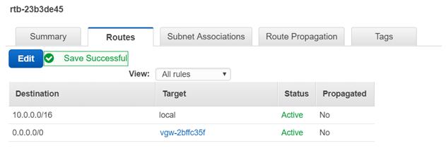 Public Subnet - NAT Gateway