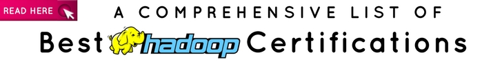 Best Hadoop Certifications